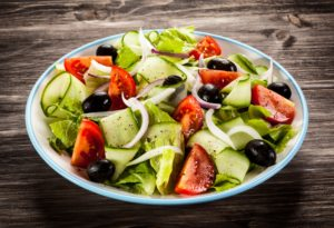 Organically Blissful - Greek salad