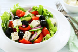 Organically Blissful - Greek salad