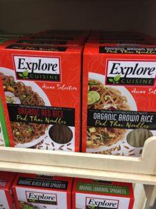 organic pad thai noodle