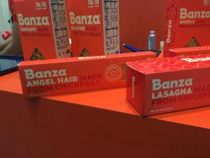 banza angel hair and lasagna