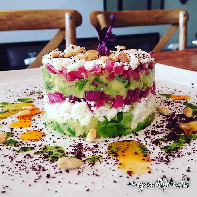 Vegetarian Mediterranean Style Avocado Tartare