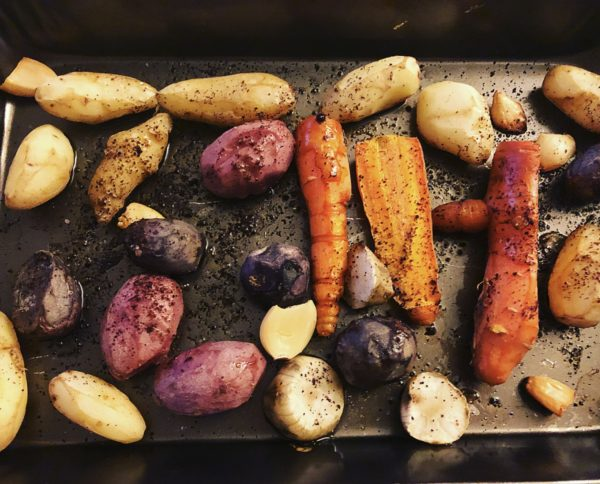 Root Vegetables Roasted With Garlic and Sumac Recipe