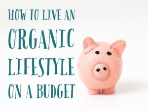 How To Live An Organic Lifestyle On A Budget
