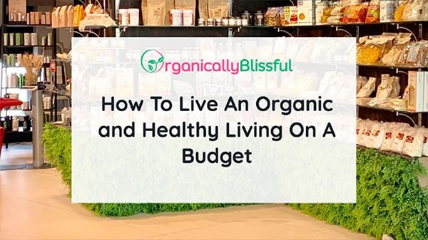 organic and healthy living on budget