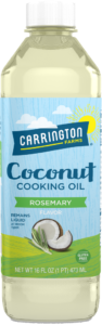 carrington coconut cooking oil