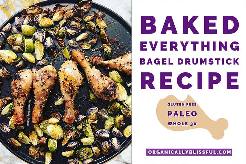 baked everything bagel drumsticks