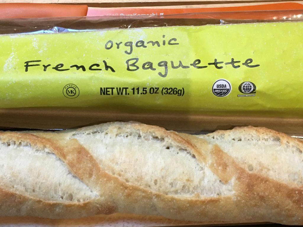 Trader Joe's organic baguette