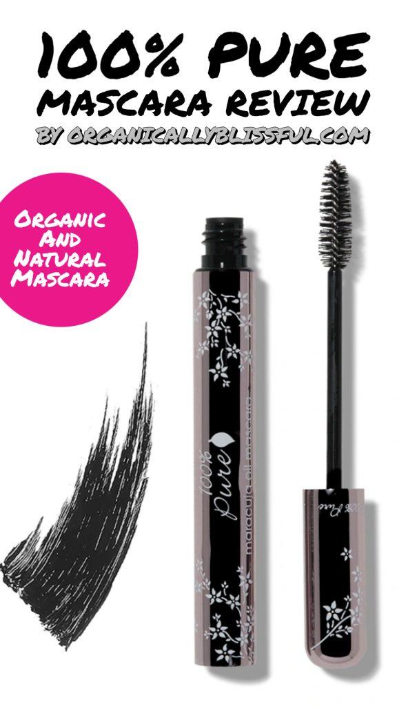 100% pure mascara review
