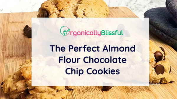 almond flour chocolate chips cookies
