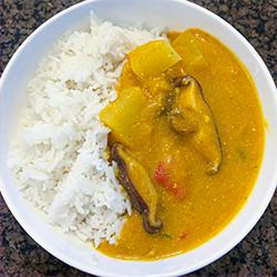 pumpkin coconut curry recipe