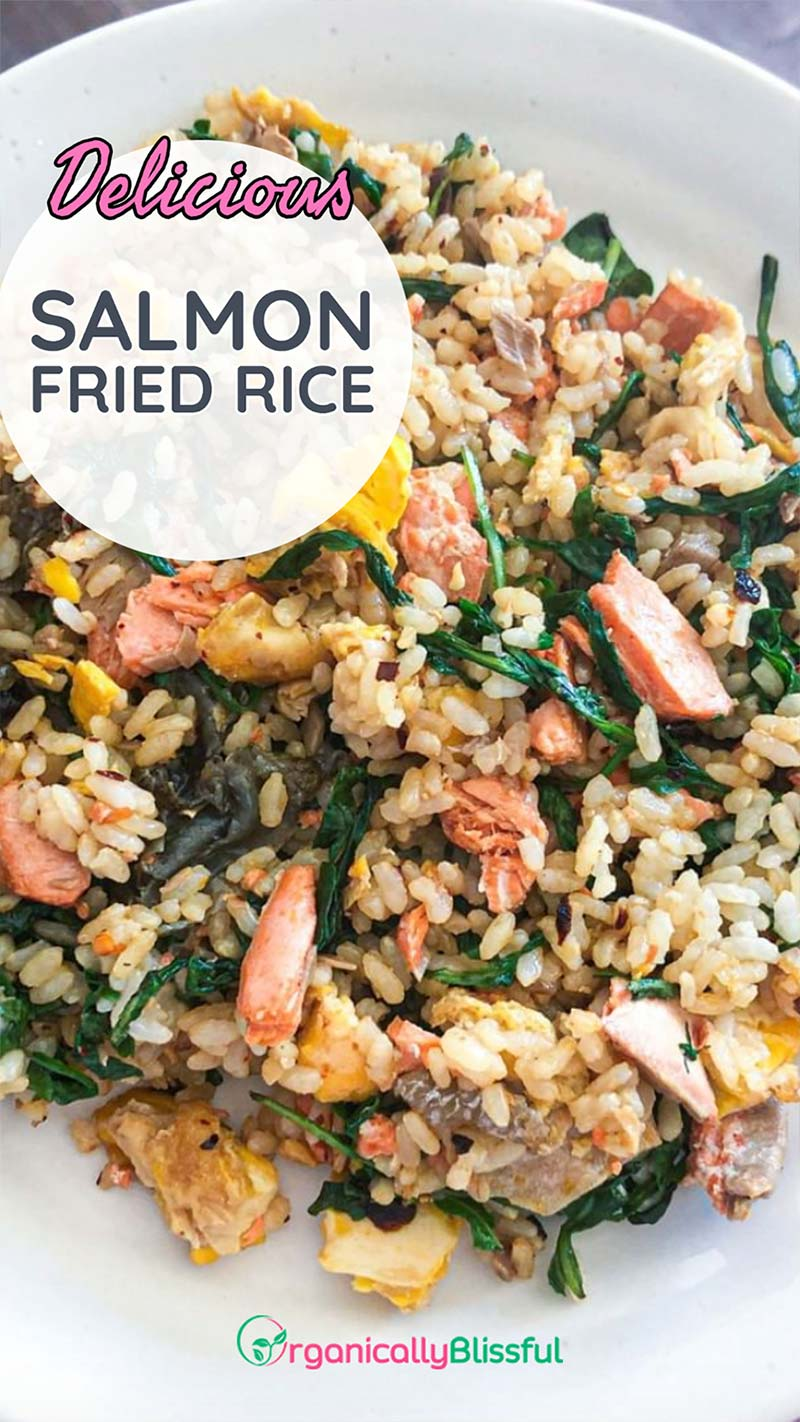 salmon fried rice pinterest